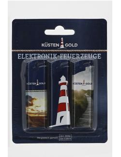 Küstengold Elektronik-Feuerzeuge