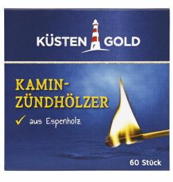 Küstengold Kamin-Zündhölzer