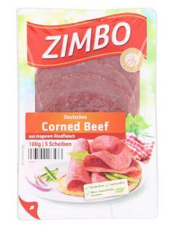 Zimbo Deutsches Corned Beef (100 g) - 4063500163473