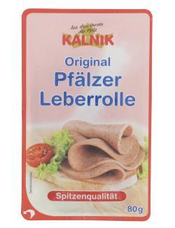 Kalnik Original Pfälzer Leberrolle (80 g) - 4009238002684
