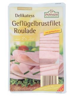 Ponnath Delikatess Geflügelbrustfilet Roulade
