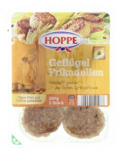 Hoppe Geflügel Frikadellen (250 g) - 4005541401077