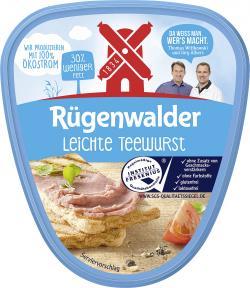 Rügenwalder Mühle Teewurst leicht (125 g) - 4000405001417
