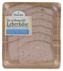 Houdek Leberkäse fein & grob (120 g) - 4004786076224