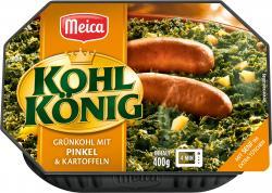 Meica Kohlkönig Grünkohl mit Pinkel & Kartoffeln
