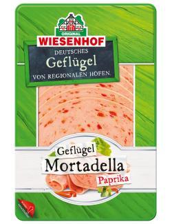 Wiesenhof Geflügel Paprika-Mortadella