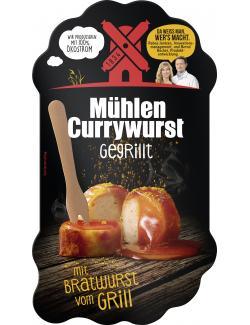 Rügenwalder Mühle Mühlen Currywurst gegrillt