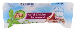 Du darfst Apfel-Zwiebel Leberwurst