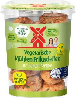 Rügenwalder Mühle Vegetarische Mühlen Frikadellen mit bunter Paprika