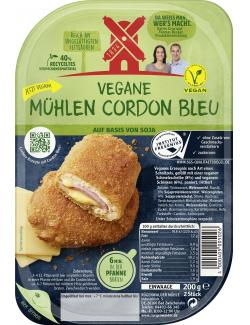 Rügenwalder Mühle Vegetarische Mühlen Schnitzel Cordon Bleu