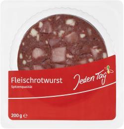 Jeden Tag Rotwurst
