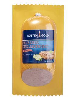 Küstengold Delikatess Gutsleberwurst grob