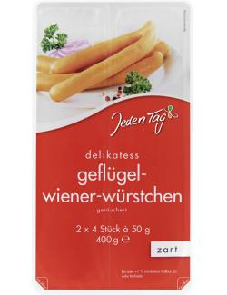 Jeden Tag Delikatess Geflügel-Wiener-Würstchen