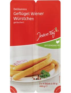 Jeden Tag Delikatess Geflügel Wiener Würstchen