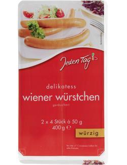 Jeden Tag Delikatess-Wiener-Würstchen