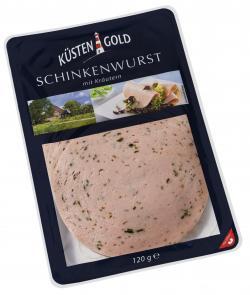 Küstengold Schinkenwurst mit Kräutern (120 g) - 4250426217902
