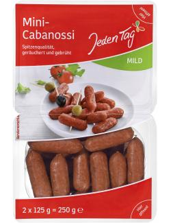Jeden Tag Mini Cabanossi mild