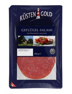Küstengold Geflügel-Salami