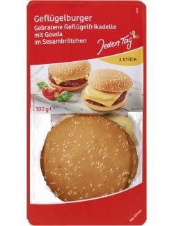 Jeden Tag Geflügelburger