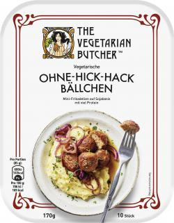The Vegetarian Butcher Vegetarische Ohne-Hick-Hack Bällchen