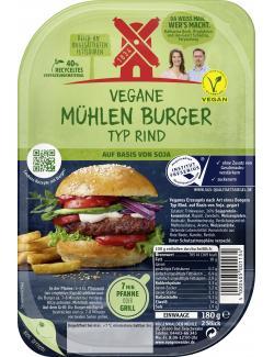 Rügenwalder Mühle Vegane Mühlen Burger Typ Rind