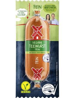 Rügenwalder Mühle Vegane Teewurst fein