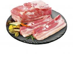 Schweinebauch am Stück