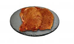 Nacken Grillkotelett gewürzt