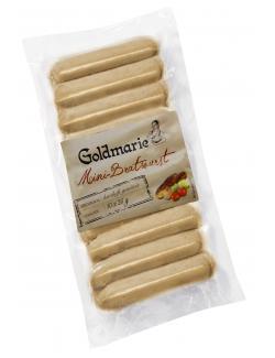 Goldmarie Mini-Bratwurst (10 x 25 g) - 2000422267010