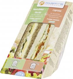 Fabry´s Premium Sandwich Maasdamer-Rucola & Caprese