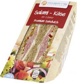 Fabry's Sandwich Salami-Käse