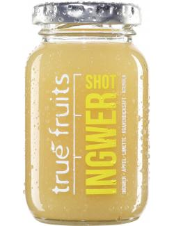 True fruits Ingwer Shot yellow