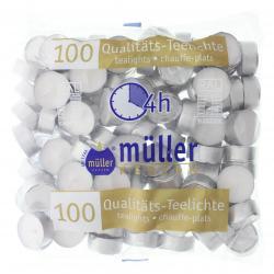 Müller-Kerzen Qualitäts-Teelichter