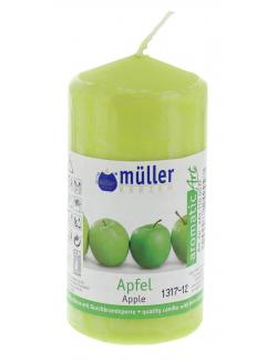 Müller-Kerzen Duft-Stumpenkerze aromaticArt Apfel (1 St.) - 4009078249997