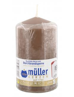 Müller-Kerzen Stumpenkerze kaschmir