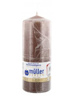 Müller-Kerzen Stumpenkerze kaschmir (1 St.) - 4009078503211
