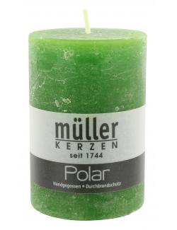 Müller-Kerzen Polar Stumpenkerze kiefer (1 St.) - 4009078501828