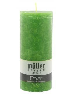 Müller-Kerzen Polar Stumpenkerze kiefer (1 St.) - 4009078501583