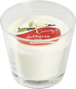 Jeden Tag Duftkerze im Glas vanille
