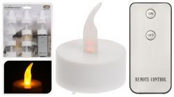 Ambiancelight Teelichte-Set mit Funkfernbedienung