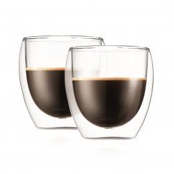 Bodum Pavina Thermo-Gläser doppelwandig 0,25 Liter