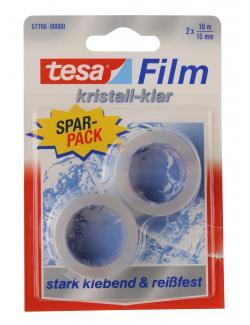 Tesa Film kristallklar 2er Pack