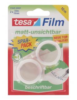 Tesa Film Matt-unsichtbar beschriftbar Sparpack