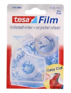 Tesa Film kristallklar Easy Cut Handabroller