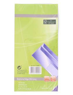 Paperfoxx Briefumschläge DIN lang mit Fenster weiß (50 St.) - 4005437800397
