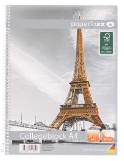Paperfoxx Collegeblock DIN A4 80 Blatt liniert (1 St.) - 4005437800045