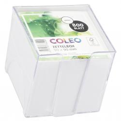 Coleo Zettelbox 95x95cm weiss 800 Blatt