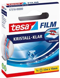 tesa Film kristall-klar, 33m x 15mm