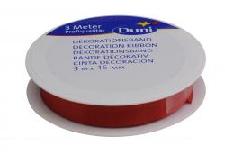 Duni Seidenband 15mm x 3m rot