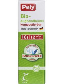 Pely Bio-Zugbandbeutel kompostierbar 10 Liter